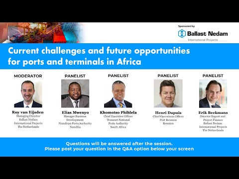 02 - Khomotso Phihlela, Chief Executive Officer, Transnet National Ports Authority, South Africa