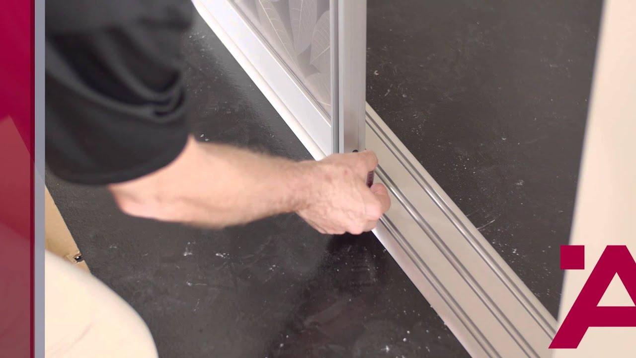 Aluflex Sliding Door Installation Guide 7of 7 Track Cleaning