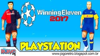 World Soccer Winning Eleven 2017 (WE2002 Patch) no Playstation 1 / PS1