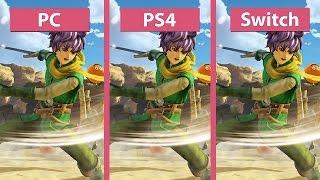Dragon Quest Heroes 2 PC vs. PS4 vs. Nintendo Switch Graphics Comparison