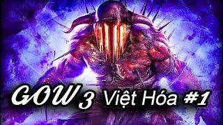 """God Of War 3 Việt hóa #1: """"XỬ LÝ"""" THẦN POSEIDON VÀ HADES !!!"""