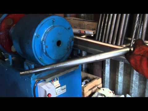 изготовление балясины из стальной тонкостенной трубы