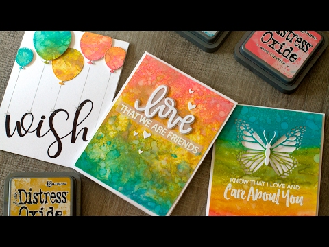 Introduction to Distress Oxide Inks (+ Many Cards)