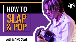 How to Slap and Pop on Acoustic Guitar