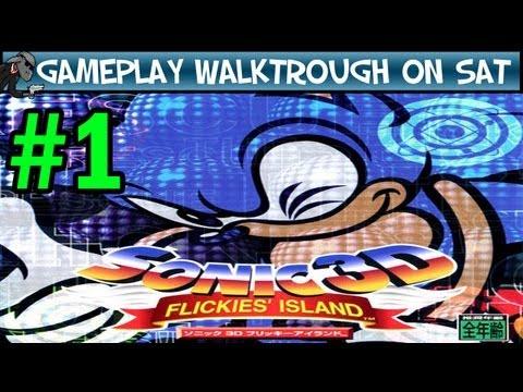 Sonic 3D Flickies Island - Part 1 - Green Grove Zone