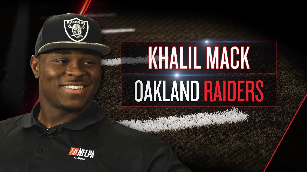 Khalil Mack On Raiders Role New Teammates Moving To Oakland 2014 NFLPA Rookie Premiere