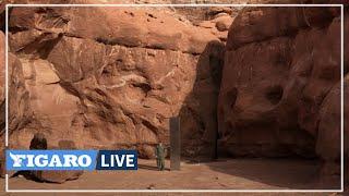 🧐Un mystérieux «MONOLITHE» de métal découvert dans un désert de l'Utah