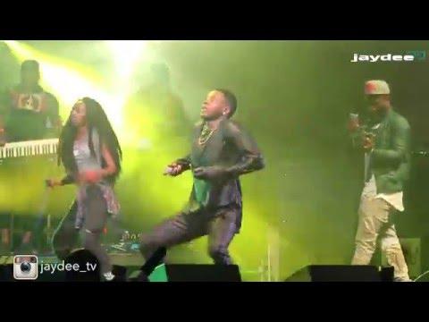 Kiss Daniel Smade Afrofest 2016  Concert Performance