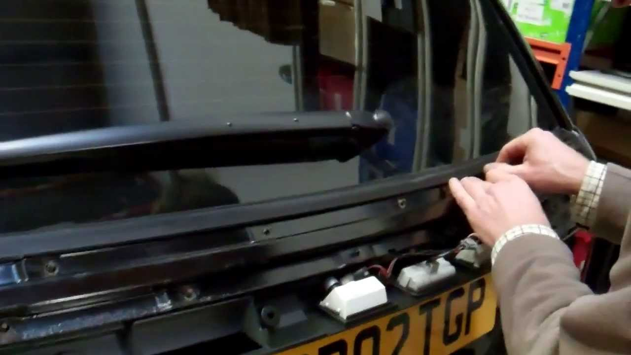 Part 2 How To Upgrade Tailgate On Range Rover Sport 2005