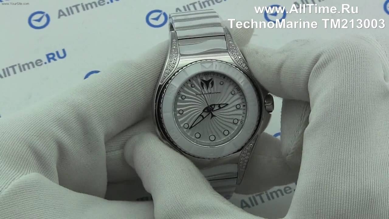 Женские часы TechnoMarine TM213003 Мужские часы Casio MTP-1353D-1B1