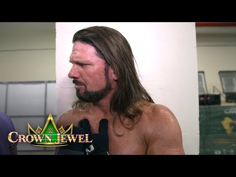 Styles discusses his two title defenses on SmackDown LIVE and at Crown Jewel: WWE Exclusive