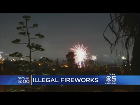 San Jose Effort To Curtail Illegal Fireworks A Dud
