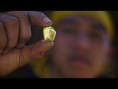 Illegal Gold Mining in Chimanimani Mountains