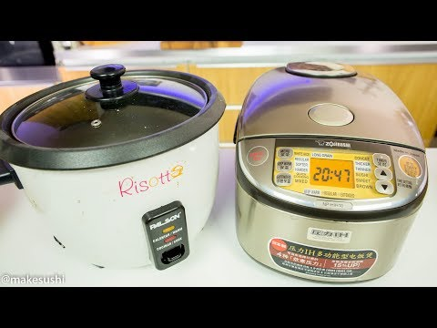 What Rice Cooker to Buy For Sushi Rice Making?