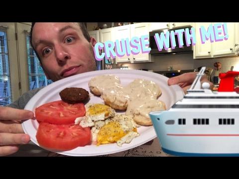 TYLER RAMEY CRUISE?! 🛳 | Southern Breakfast Mukbang! 🍳🥓
