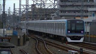 平日朝ラッシュ時の東京メトロ東西線原木中山駅