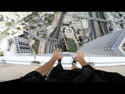 GoPro: Skyscraper Handstand in Tel Aviv with Jason Paul
