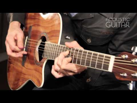 New Gear, Ovation Celebrity Jumbo review from Acoustic Guitar