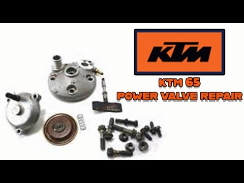How to fix a KTM 65 sx powervalve. 2 Stroke power valve Repair,replace, install and fix the problem!