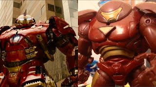 Avengers Age of Ultron Trailer Side-by-side Comparison with Stop Motion