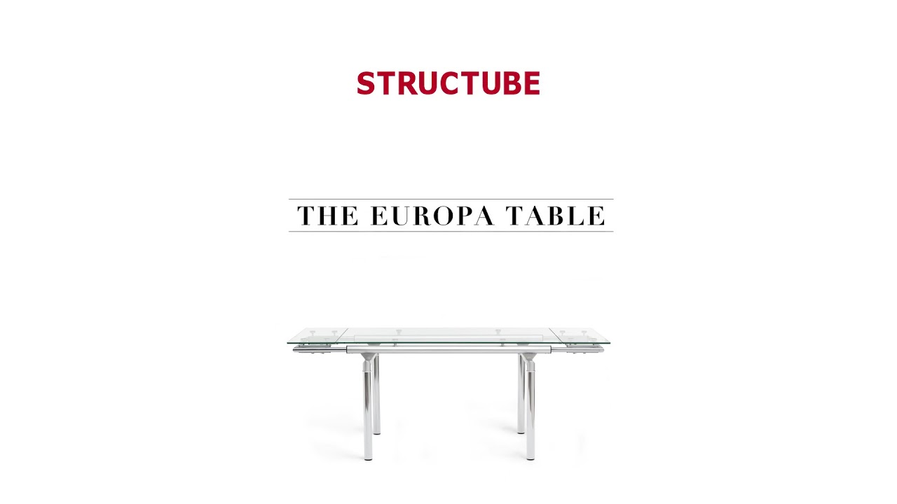 Structube Table The Europa Table Structube Youtube
