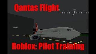 QANTAS A330 FLIGHT! Roblox - Pilot Training Simulator
