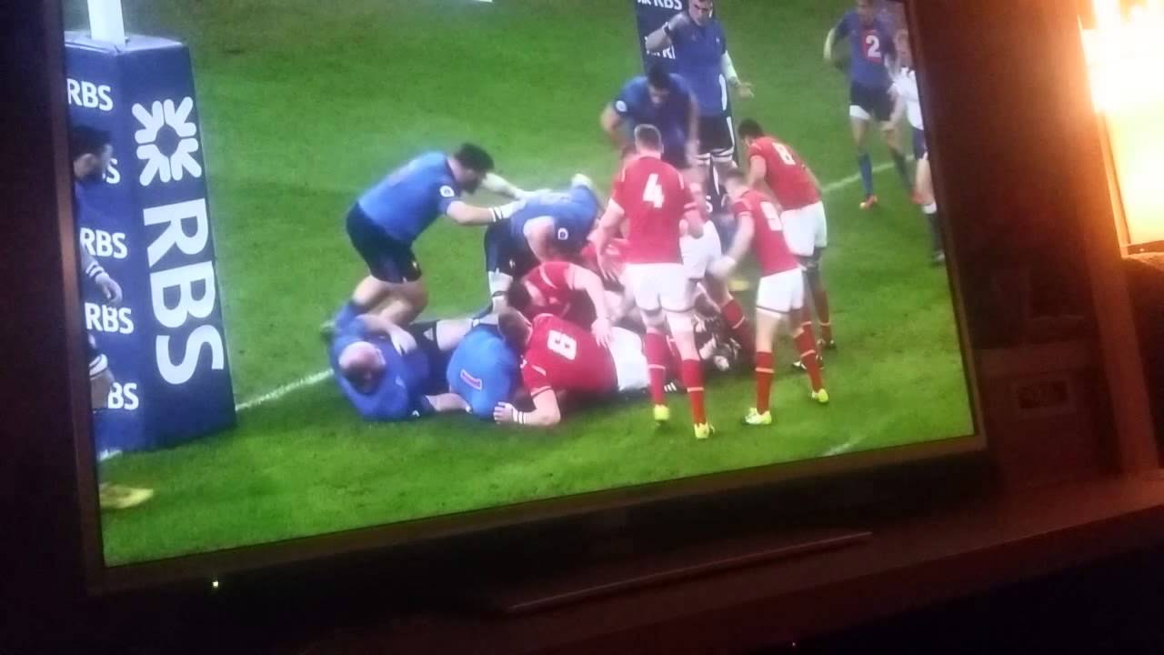 r u00e9sum u00e9 du match de rugby pays de galles