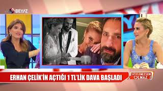 Gülben Ergen ve Erhan Çelik dava düellosu başladı