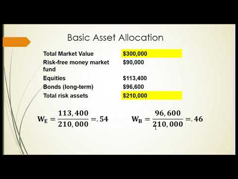 Capital Allocation to Risky Assets PT2
