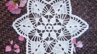 Como hacer tapete o carpeta  a crochet paso a paso DIY parte 2/2