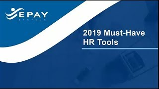 2019 must have hr tools final