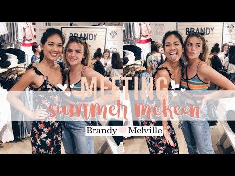 I MET SUMMER MCKEEN AT BRANDY MELVILLE...TEA? thumbnail