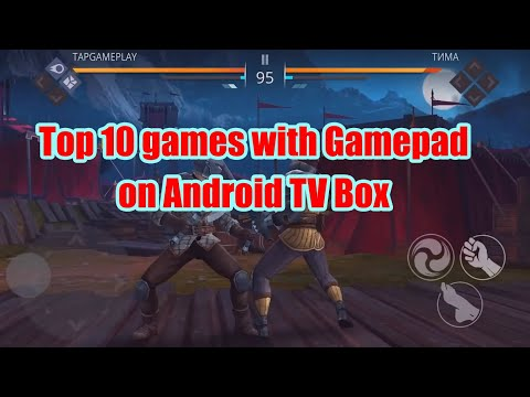 Top 10 Games With Gamepad On Android TV Box