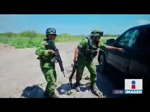 Así es como militares operan después de una balacera en Matamoros | Noticias con Ciro