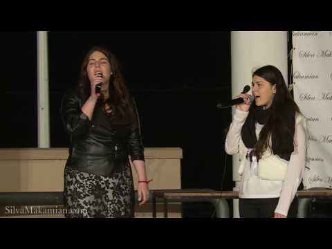 Maria Moskofian and Andria Eleftheriou -