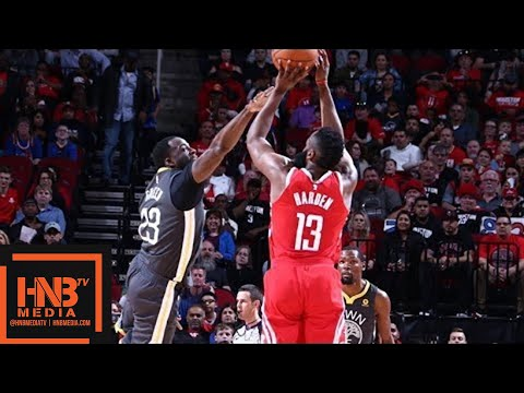 Golden State Warriors vs Houston Rockets 1st Half Highlights / Jan 20 / 2017-18 NBA Season