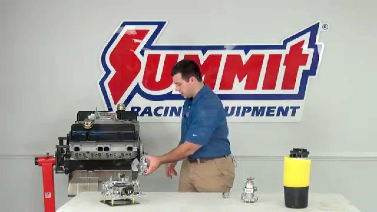 Electric Vs Mechanical Fuel Pump Summit Racing Quick Flicks Youtube 1987 Chevy Truck Cargo Light Wiring