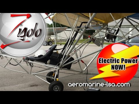 75 HP electric motor and batteries available for ultralight aircraft!