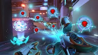 Rare IMPOSSIBLE Symmetra 1v6!?! - Overwatch Funny Moments & Best Plays 11