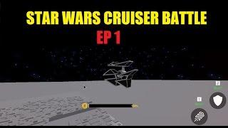 Roblox Star Wars: Cruiser Battle