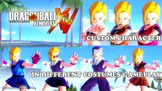 Dragon Ball Xenoverse Custom Character Costume Gameplay