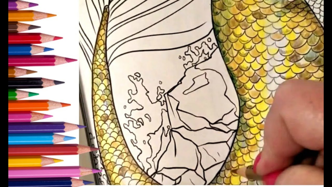 How To Color Metallic Gold With Prismacolor Pencils With Numbers