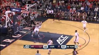 Top 3 Virginia Blocks vs Virginia Tech