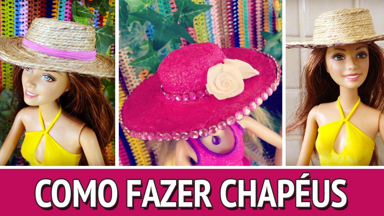 Chapéu para Barbie - Como fazer - YouTube dd53cd0219e