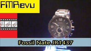 Fossil Nate JR1437 Men's Fashion Watch Review