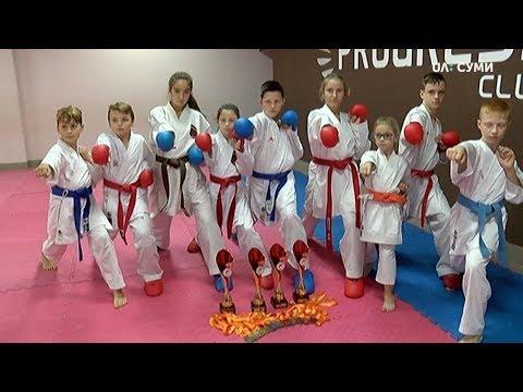 UA:СУМИ: Сумські каратисти привезли 15 медалей з міжнародного турніру у Чехії