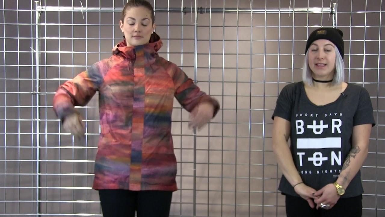 Burton Women s Gore-Tex Rubix Jacket 2017-2018 - YouTube cb39548cd