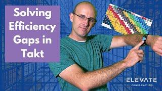 Solving Efficiency Gaps in Takt Planning│leanTakt