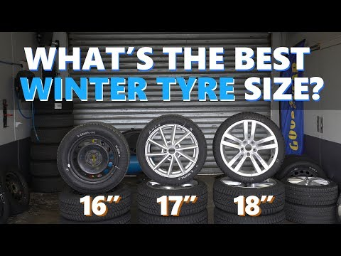 The Differences Between 16, 17 And 18 Inch WINTER Tyres Tested And Explained!