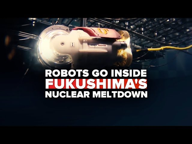 How robots are cleaning up Fukushima's nuclear disaster